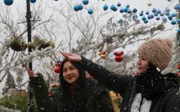Fansipan Legend hóa thiên đường tuyết rơi trong Lễ hội mùa đông