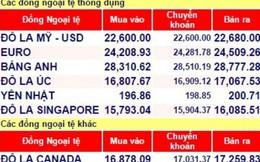 Tỉ giá hạ nhiệt, mức trần vẫn ởngưỡng 22.778 VND/USD