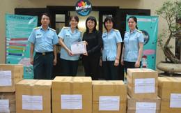 Hội Phụ nữ Phòng không không quân gửi tặng 9 thùng quà đến Chương trình Mottainai