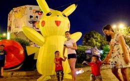 Phố lồng đèn Pokemon thu hút trẻ nhỏ dịp Trung thu