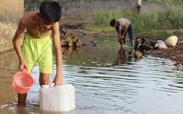 Nắng nóng kéo dài, lo suối cạn không biết lấy nước đâu mà dùng