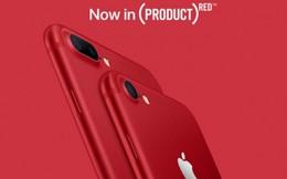 4/2017, iPhone 7 màu đỏ chính hãng được bán tại Việt Nam