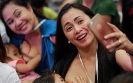 Philippines: Hơn 2.000 bà mẹ cho con bú tập thể