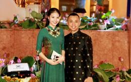 Chí Anh lần đầu đưa vợ kém 20 tuổi đi sự kiện