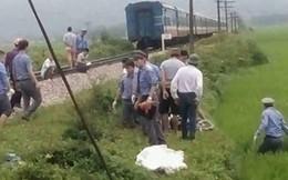 Thanh Hóa: 2 vợ chồng tử vong vì bị tàu hỏa kéo lê