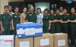 Phòng Bảo đảm phục vụ sở chỉ huy cơ quan Bộ QP ủng hộ Mottainai
