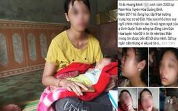 Bi kịch của cô bé làm mẹ ở tuổi 16 'tố' chồng bạo hành