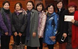 Ấm áp buổi gặp cán bộ hưu trí cơ quan TƯ Hội LHPNVN