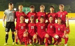 Đội tuyển bóng đá nữ Việt Nam vượt qua 'kình địch' Thái Lan vào tứ kết ASIAD 18