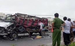 Hai xe khách tông nhau trực diện ở Tây Ninh, 6 người chết