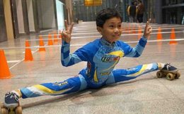 Màn xoạc chân phá kỷ lục Guinness của cậu bé 9 tuổi