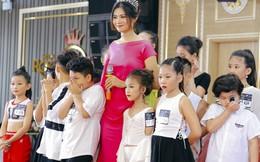Miss Photo Vũ Hương Giang ngồi 'ghế nóng' tìm kiếm tài năng nhí