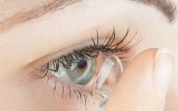 Kính áp tròng phóng to hình ảnh chỉ bằng cái chớp mắt