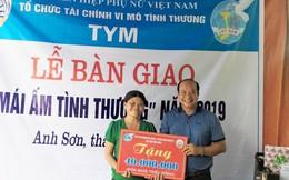 TYM đã trao hơn 130 mái ấm tình thương hỗ trợ phụ nữ khó khăn