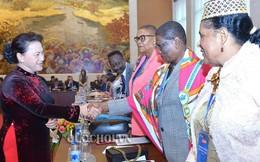 Chủ tịch Quốc hội đề nghị nâng cao tỷ lệ đại biểu nữ trong cộng đồng Pháp ngữ