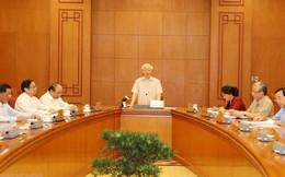 Tổng Bí thư, Chủ tịch nước Nguyễn Phú Trọng chủ trì họp Tiểu ban Nhân sự Đại hội Đảng