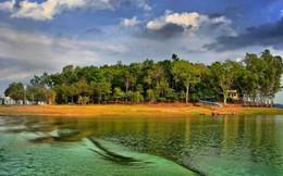 Xuyên rừng kỳ thú, đón bình minh trong trẻo trên hồ