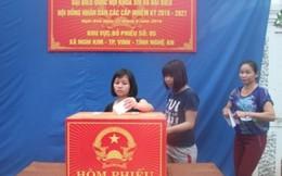 Nữ đại biểu Quốc hội tỉnh Nghệ An chiếm 30,76%