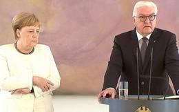 Thủ tướng Angela Merkel run lẩy bẩy trước công chúng, dấy lên lo ngại về sức khỏe