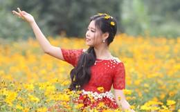 Tài năng nhí Đỗ Bảo Chi rực rỡ giữa vườn hoa xuân