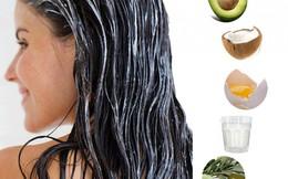8 loại mặt nạ tự chế giải quyết mọi vấn đề về tóc