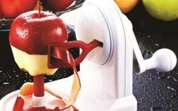 Gọt trái cây bằng máy