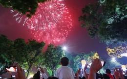 Giao thừa Tết Nguyên đán 2017, Hà Nội bắn pháo hoa 30 điểm