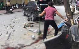 Hà Nội: 'Xe điên' gây tai nạn liên hoàn, 2 mẹ con nhập viện