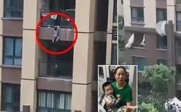 Cậu bé 3 tuổi sống sót sau khi rơi từ tầng 6 chung cư
