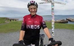 Cụ bà cao tuổi nhất thế giới đạp xe chinh phục chiều dài nước Anh