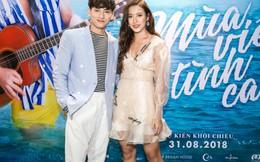Issac và nữ diễn viên Phan Ngân uống say mới dám đóng cảnh nóng