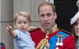 Những hình ảnh hài hước về gia đình Hoàng gia