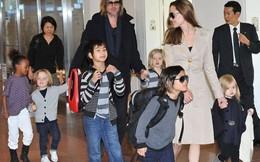 """Angelina Jolie """"tố"""" Brad Pitt không đưa tiền chu cấp cho con"""