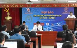 Gần 200 vận động viên tham giai Giải bóng bàn Cúp Hội Nhà báo Việt Nam lần thứ XIII