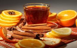 Học chuyên gia 3 bước làm trà cam quế giúp tăng đề kháng lúc giao mùa