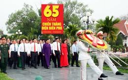 Đoàn đại biểu lãnh đạo Trung ương viếng Nghĩa trang Liệt sỹ A1