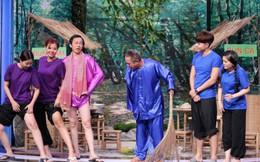 Hoài Linh, Trung Dân hài hước khoe chân trắng nuột nà
