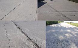 Hưng Nguyên - Nghệ An: Dự án đường hơn 8 tỷ vừa làm xong đã hỏng