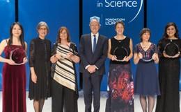 5 phụ nữ được trao giải thưởng khoa học quốc tế L'Oréal-UNESCO