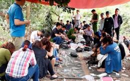 Hà Tĩnh: Triệt phá sới bạc 'khủng' đang say sưa sát phạt trong rừng sâu