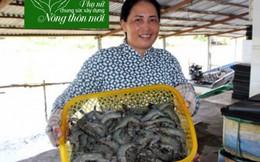Bà chủ vựa tôm tích cực chung tay xây dựng nông thôn mới