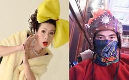Xuân Bắc bị cúm, Kim Chi 'biến hình' với nơ 'khủng'