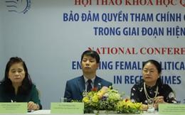 Giải pháp nhằm hiện thực hóa quyền tham chính của phụ nữ