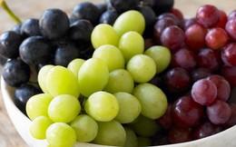 Mách bạn 8 lợi ích sức khỏe mà quả nho đem lại