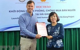 Khởi động dự án phòng, chống mua bán người tại Hà Giang