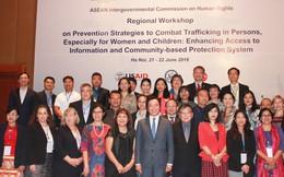 Tiếng nói chung của ASEAN trong phòng, chống buôn bán phụ nữ và trẻ em