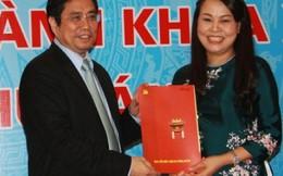 Bà Nguyễn Thị Thu Hà làm Chủ tịch Hội LHPNVN