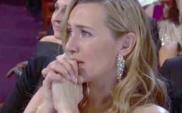 Kate quá xúc động khi Leo giành tượng vàng