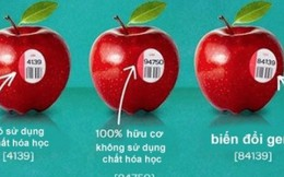 Đọc độ an toàn của trái cây qua tem, nhãn