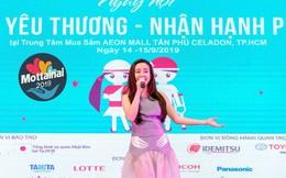 Vy Oanh ngọt ngào hát 'Đồng xanh' tại Mottainai 2019